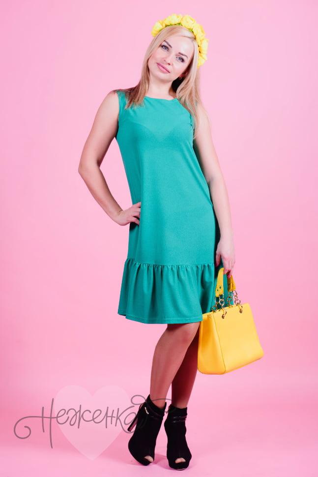 Платье П 536 (зеленый)