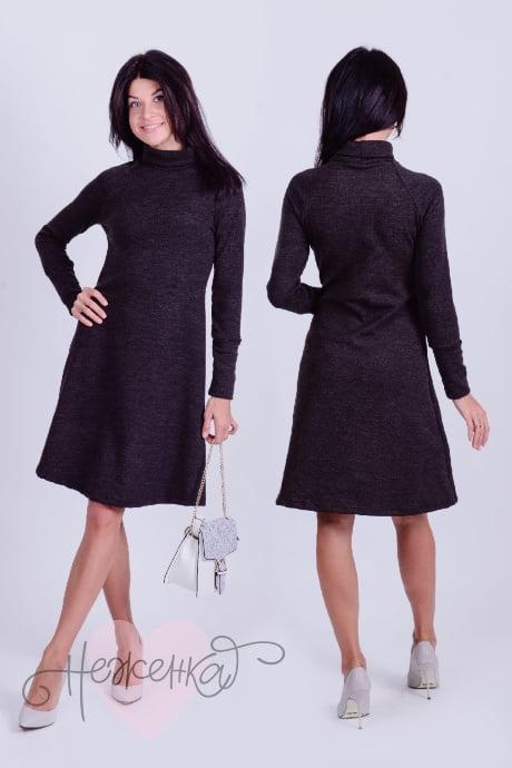 Платье П 471 (антрацит)