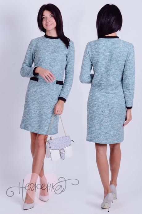 Платье П 620 (ментол)
