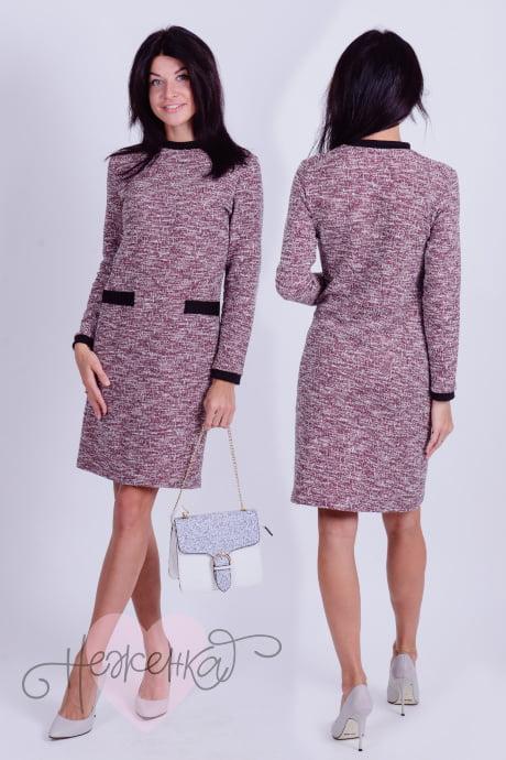 Платье П 620 (бордо)