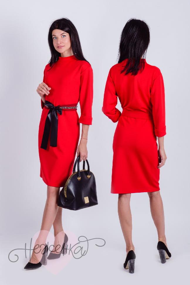 Платье П 613 (красный)