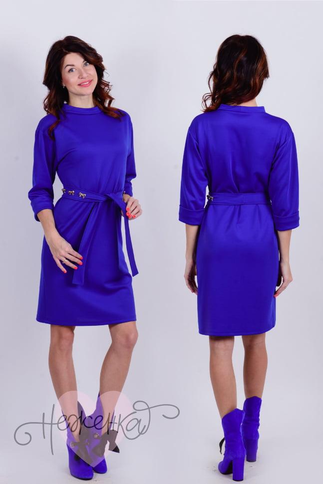 Платье П 655 (василек)