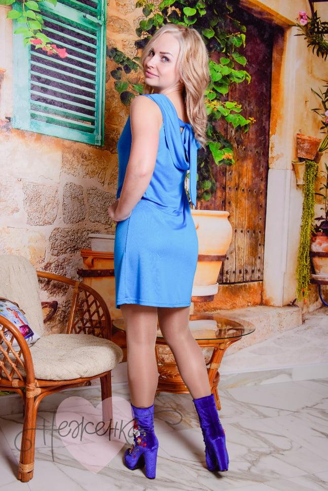 Платье П 542 (бирюза)