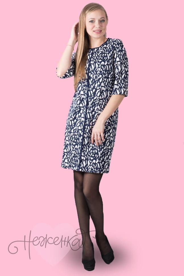aed57ed7e572 Платье П 498 (геометрия) - купить оптом за 53 руб. от производителя ...