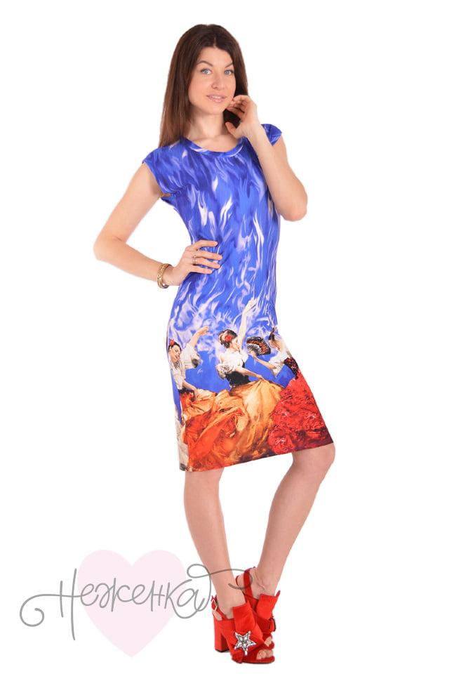25b7f28f0d96 Платье П 599 (купон Испанка) - купить оптом за 370 руб. от ...
